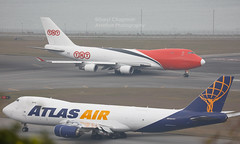 """Boeing, 747-4HA(ERF), OO-THB, """"ASL Airlines"""", VHHH, Hong Kong (Daryl Chapman Photography) Tags: oothb tnt aslairlines 3v tay boeing 747 744f 7474haerf tntairways atlasair 5y 35234 1386 gti 74787uf 748 748f cargo freighter canon 5d mkiv 100400lii slw hkia clk cheklapkok hongkonginternationalairport plane planes aviation aviationphotography planespotting planephotography aircraft"""