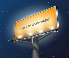Billboard lighted night image (graficx 123) Tags: outdoor prominent place large visible ad agency night darkness lighted yellow clearly attracting sky sales discount auto service real estate decorative advertisement billboard placard print poster promotion banner background design business marketing company common modern popular effective creative attention grabbing locking standing high way highway motorway invitation abstract vector illustration