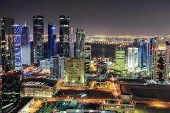 Night 💙 ...memories of Doha, Qatar (Dusan Baksa) Tags: qatar katar