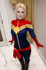 Captain Marvel (Carol Danvers) (greyloch) Tags: katsucon cosplay costume 2018 niksoftware comicbookcostume comicbookcharacter marvel captainmarvel caroldanvers