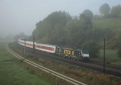 MRCE ES 64 F4 115 (189 115) Hermannspiegel 02/10/2012 (stefano.trionfini) Tags: train treni bahn zug mrce es64 189 germania germany