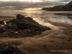 Sunset over Caswell Bay 2019 01 25 #1 (Gareth Lovering Photography 5,000,061) Tags: sunset sun sunny sunshine caswell gowercoast gower swansea wales seaside landscape beach walescostalpath olympus penf garethloveringphotography