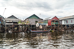 Floating Village (Lцdо\/іс) Tags: floating village kampuscha kambodscha cambodge cambodia siemreap tonle sap lake house piloti water life street boat travel trip citytrip voyage discover explore