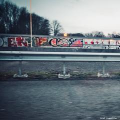 Singin' together, kiss the crash-barriers (An Pierlé) [43/365] (stef demeester (sometimes off)) Tags: grafitti highway road stefdemeester streetphotography urban