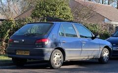P970 SKV (Nivek.Old.Gold) Tags: 1997 peugeot 306 l 5door 1905cc d