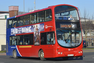 3963 NK06 JXD Go North East