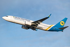 UR-PST (Andras Regos) Tags: aviation aircraft plane fly airport bud lhbp spotter spotting takeoff ukraineinternational boeing 737 738