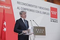La Comunidad reconoce a las empresas que apuestan por la responsabilidad social y la prevención de riesgos laborales (Comunidad de Madrid) Tags: madrid españa ángelgarrido presidentedelacomunidaddemadrid empleo