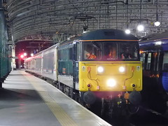 Caledonian 86101 Sir William Stanier F.R.S, Glasgow Central (22/02/2019) (1) (David Hennessey) Tags: class 86 electric locomotive 86101 sir william stanier frs caledonian sleeper glasgow central