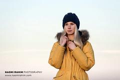 Icelandic Outdoor Adventure Fashion Shoot (Naomi Rahim (thanks for 4.5 million visits)) Tags: outdoor adventure 2018 iceland reykjavik nikond7200 55200mm nikon winter fashion editorial photoshoot coat down beanie mustard yellow portrait vsco sunset sky