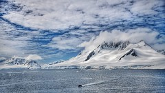 Humbling scale (Timothy Hastings) Tags: wilderness ocean steep rugged blue white divine celestial beauty reality nature dream mountain landscape magic antarctica