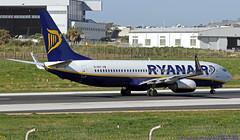 EI-DHY LMML 05-03-2019 Ryanair Boeing 737-8AS CN 33824 (Burmarrad (Mark) Camenzuli Thank you for the 17.2) Tags: eidhy lmml 05032019 ryanair boeing 7378as cn 33824