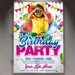 Kids Birthday Party Flyer - PSD Template (PSD market) Tags: anniversary anniversaryparty annual celebration kidsbirthday kidsbirthdayflyer kidsbirthdaynightflyer kidsbirthdaynightposter kidsbirthdayparty kidsbirthdaypostertemplate kidsbirthdaypsdtemplate kidsflyer kidsposter