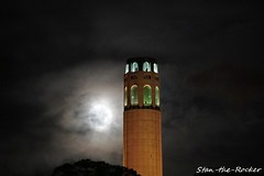 Coit Tower Viewed from Russian Hill - 032019 - 05 (Stan-the-Rocker) Tags: stantherocker sony ilce sanfrancisco coittower telegraphhill northbeach street russianhill sigma18300