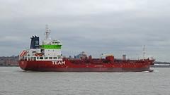 DSCN4755 (Darren B. Hillman) Tags: ship water manchestershipcanal runcorn rotterdam birkenhead nikonp900 rivermersey sichemlily chemicaloil tanker