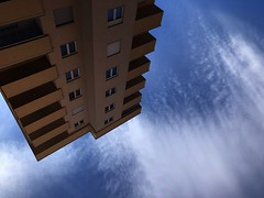 (Endrit Mazreku) Tags: falling iss blue building earth sky