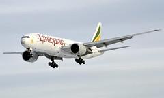 Ethiopian ET-ANO, OSL ENGM Gardermoen (Inger Bjørndal Foss) Tags: etano ethiopian boeing 777 osl engm gardermoen