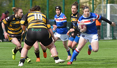 On The Loose (Feversham Media) Tags: yorkcityknightsladiesrlfc wakefieldtrinityladiesrlfc womenssuperleague yorkstjohnuniversity rugbyleague york womensrugbyleague