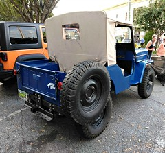 """Willys-Overland  CJ-3B """"Universal"""" (Dave* Seven One) Tags: willysoverlandcj3buniversal willysoverland cj3b universal jeep 1964 1960s 4x4 14ton usa classic vintage"""