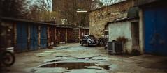 Beetle (Thomas Grotmol) Tags: lomography petzval58 city dark rain car tint oldschool bokeh petzval lomo retro beetle february 2019 germany europe berlin