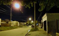 Calle de barrio por la noche. (jagar41_ Juan Antonio) Tags: barrio noche calle luján buenosaires provinciadebuenosaires argentina