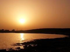 sunset over the beach (ti_ben) Tags: sunset coucherdesoleil soleil sun plage beach cyclades paros greece grèce