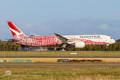Qantas Boeing 787-9 VH-ZND YBBN (Nathen Sieben) Tags: ybbn brisbane airport qantas boeing 7879 dreamliner emily yam dreaming vhznd
