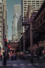 Chicago City (Jovan Jimenez) Tags: canon eos elan 7ne tilt shift hasselblad carl zeiss planar 80mm f28 fujicolor c200 35mm film skyscraper bokeh fujifilm 7s 30v 22v analogue analog building city chicago