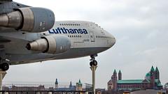 Boeing 747-230B(M) D-ABYM Lufthansa (William Musculus) Tags: 747200m 747200b boeing 747230bm dabym lufthansa lh dlh airplane spotting plane william musculus combi aviation