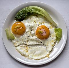 Grumpy old man (Poupetta) Tags: eggs