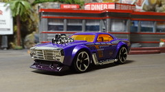 Poison Ivy Custom Drag/Street Racer. (ManOfYorkshire) Tags: zuru diecast 164 scale car auto automobile drag street custom racer detailed poisonivy diner diorama