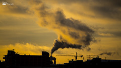Cloud of Smoke in city (gabrielsphotography) Tags: gothenburg city smoke citylife cold