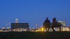 Antwerp by night (hutsepot) Tags: antwerpen anvers antwerp leftbank linkeroever linkesufer rivegauche vl oostvlaanderen flanders flandern flandre nachtfotograpie nightphotography photographiedenuit vue panorama panorame uitzicht view ansicht