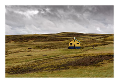 Icelandic Farmhouse As Storm Approaches (www.davidrosenphotography.com) Tags: iceland farmhouse travel landscape storm clouds