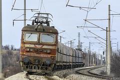 43 509 (Rivo 23) Tags: bdz cargo bdž bulgarian state railways electric locomotive class 43 509 skoda 64e škoda freight train railway line sofia plovdiv vakarel бдж карго товарен влак товарни превози електрически локомотив шкода серия