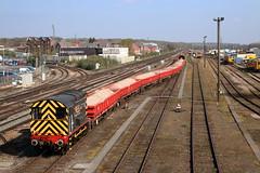 08511 Eastleigh (cmc_1987) Tags: 08511 08460 rss railwaysupportservices eastleigh gronk br britishrail shunter dieselshunter 060 gbrf db pilot