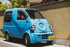 Blue japanese car (Coeur de nomade) Tags: voiture japon2018 continentsetpays asiedelestorientale asie asia asieorientale jp jpn japan eastasia