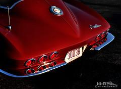 2 Extra Tail Lights (Hi-Fi Fotos) Tags: c2 corvette custom tail light lamp 6 60s kustom chrome red chevrolet mod vintage american classiccar nikon d5000 hififotos hallewell