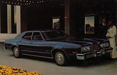 1976 Ford Montego MX Brougham Promotional Postcard from Barile Ford - Valparaiso, Indiana (Shook Photos) Tags: postcard postcards chrome chromepostcard chromepostcards chromelithograph car cars auto automobile automobiles barileford ford valparaisoindiana valparaiso indiana portercounty cardealer cardealership dealership