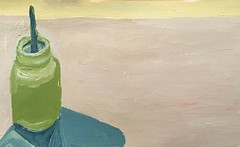 2018.12.22 Paintbrush Island (Julia L. Kay) Tags: juliakay julialkay julia kay artist artista artiste künstler art kunst peinture dessin arte woman female sanfrancisco san francisco sketch dibujo daily everyday 365 acrylic acrylics acrylicpaint paint painting paper canvas panel