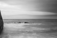 The Mariners (Trev Packer Photography) Tags: seascapes longexposure mono angles thirds movement sky sea rocs sussex brighton