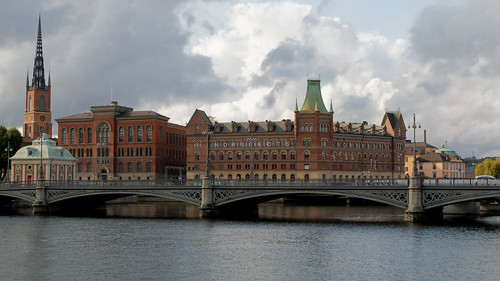 Gloomy Stockholm