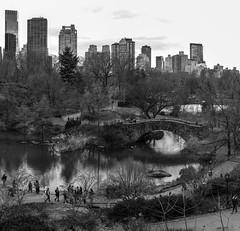 Park and City II (Joe Josephs: 3,166,284 views - thank you) Tags: manhattan nyc newyorkcity urban urbanpark urbanlandscape city citylandscape citypark landscapephotography urbanexploration blackandwhitephotography bw monochrome
