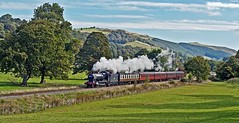 late summer (midcheshireman) Tags: steam train locomotive llangollen wales greatwestern 38xx