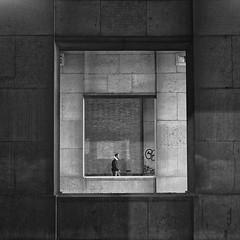 framed (frax[be]) Tags: streetphotography street square architecture 23mm fuji city urban noiretblanc monochrome geometry wall blackandwhite bnw bw