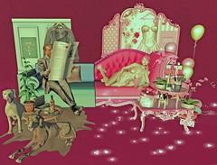 Mars Meets Venus - Boudoir - Happy Valentines Day! (Halfwraith) Tags: boudoir valentinesday cureless kokolores runic psychobyts glutz yoyo man una romp