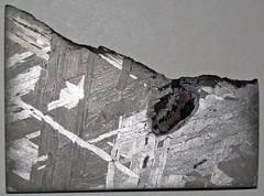 Octahedrite (Brenham Meteorite) (Kiowa County, Kansas, USA) 6 (James St. John) Tags: octahedrite iron meteorite brenham meteorites kiowa county kansas asteroid belt metal kamacite taenite nickel