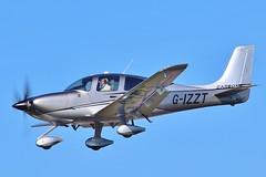 Cirrus SR-22T Carbon GTS G-IZZT at Kemble / Cotswold . (Bob Symes) Tags: gizzt sr22t carbon cirrus cirrussr22tcarbon 1714 cn1714