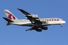 A7-APE Qatar Airways Airbus A380-861 (johnedmond) Tags: perth ypph westernaustralia qatar airbus a380 australia aircraft aviation aeroplane airplane airliner plane sky canon eos7d ef100400mmf4556lisiiusm
