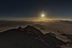 Sunrise over the Namib Desert (Trouvaille Blue) Tags: africa namibia namibdesert balloon mountain sunrise trouvailleblue sossusvlei